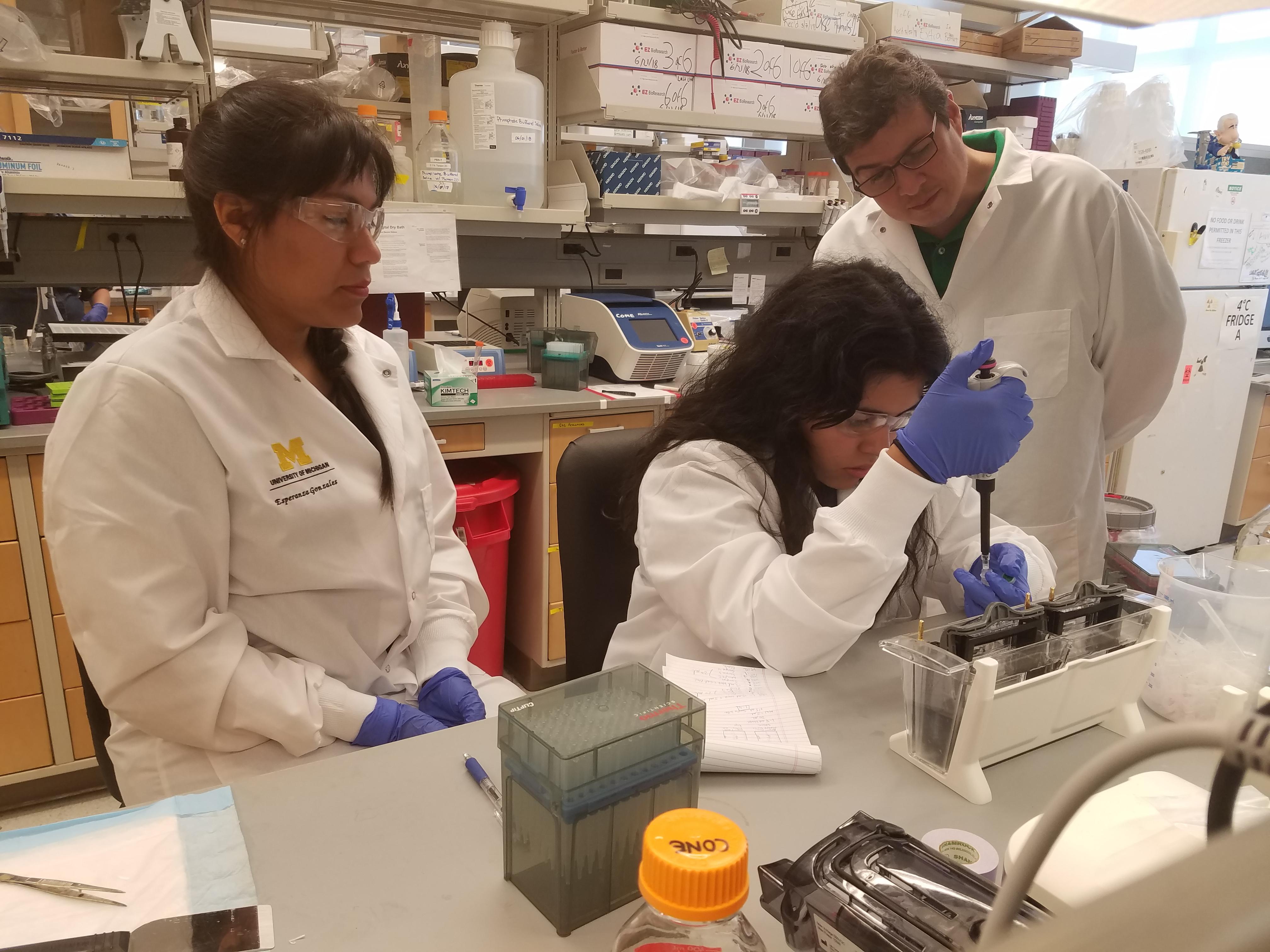 Cone Lab Aspirnaut students
