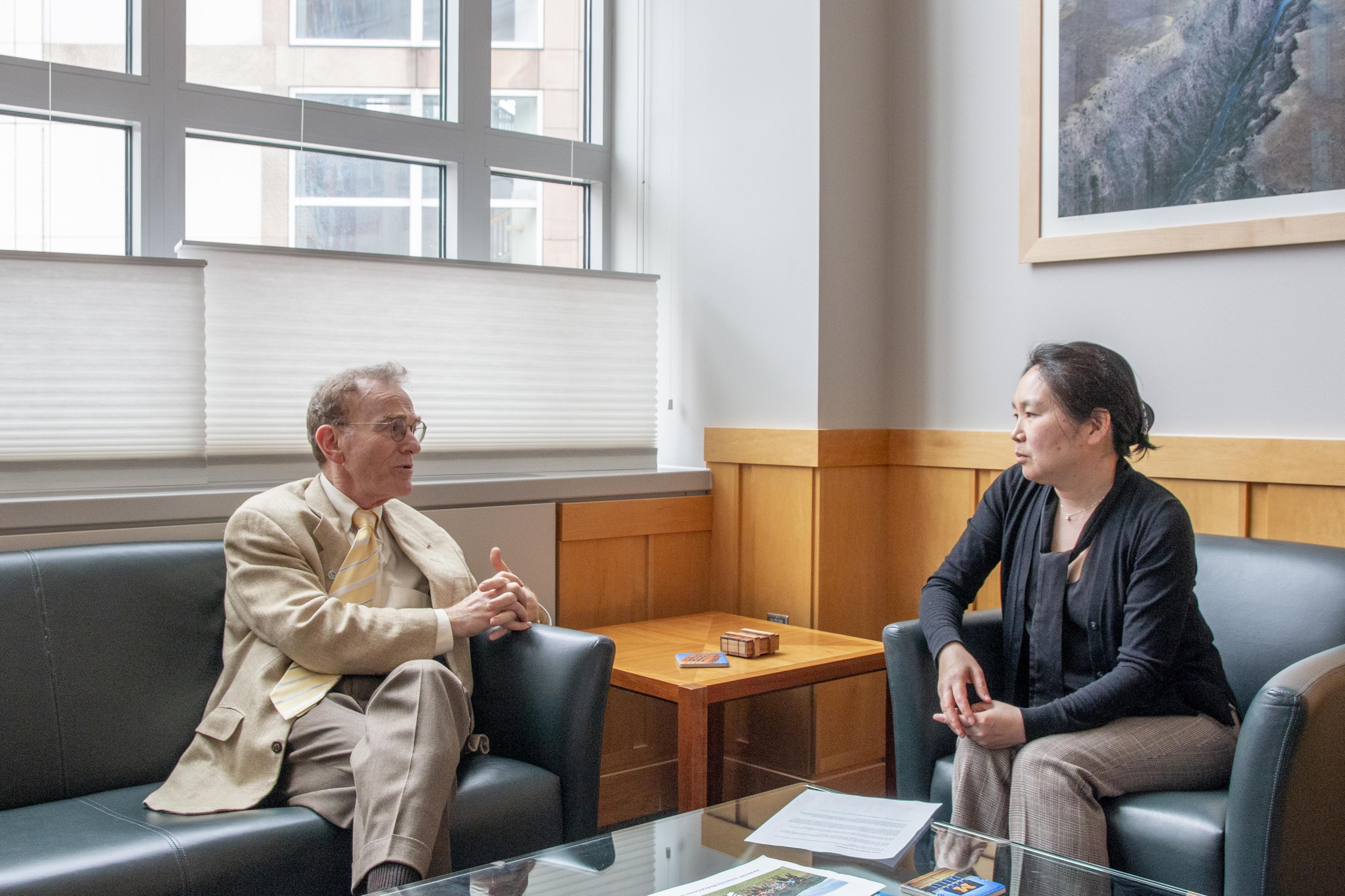 Randy Schekman and Yukiko Yamashita