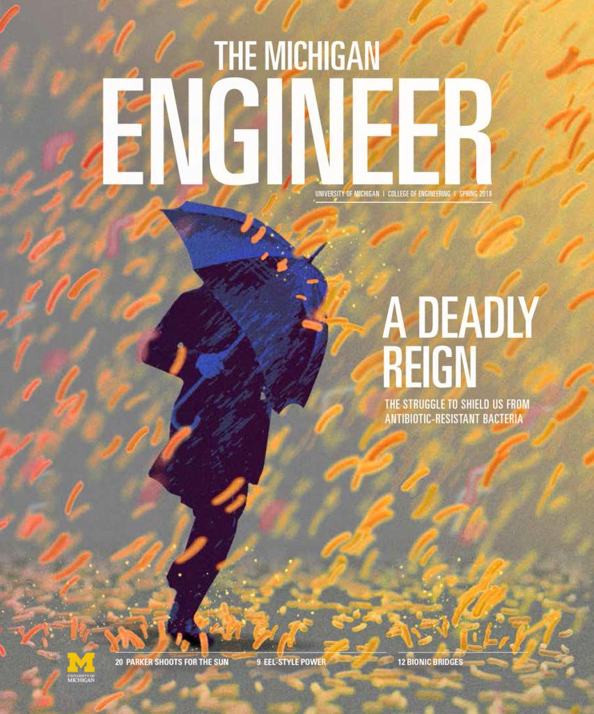 Michigan Engineer Magazine Cover