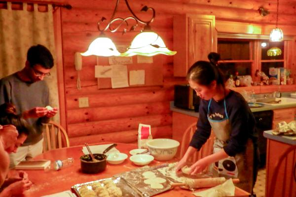 Lee lab cooking