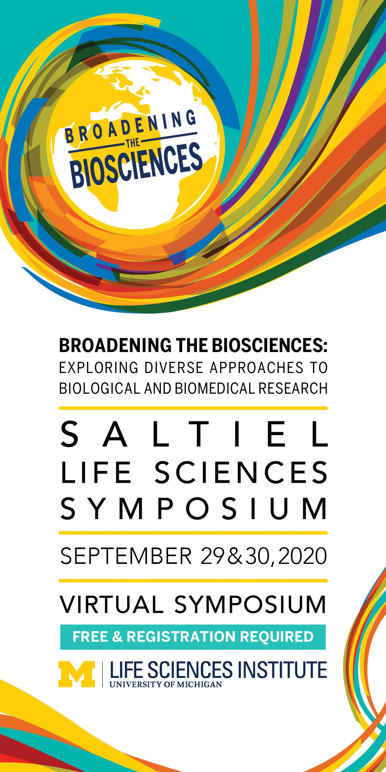 2020 Saltiel Life Sciences Symposium, September 29-30