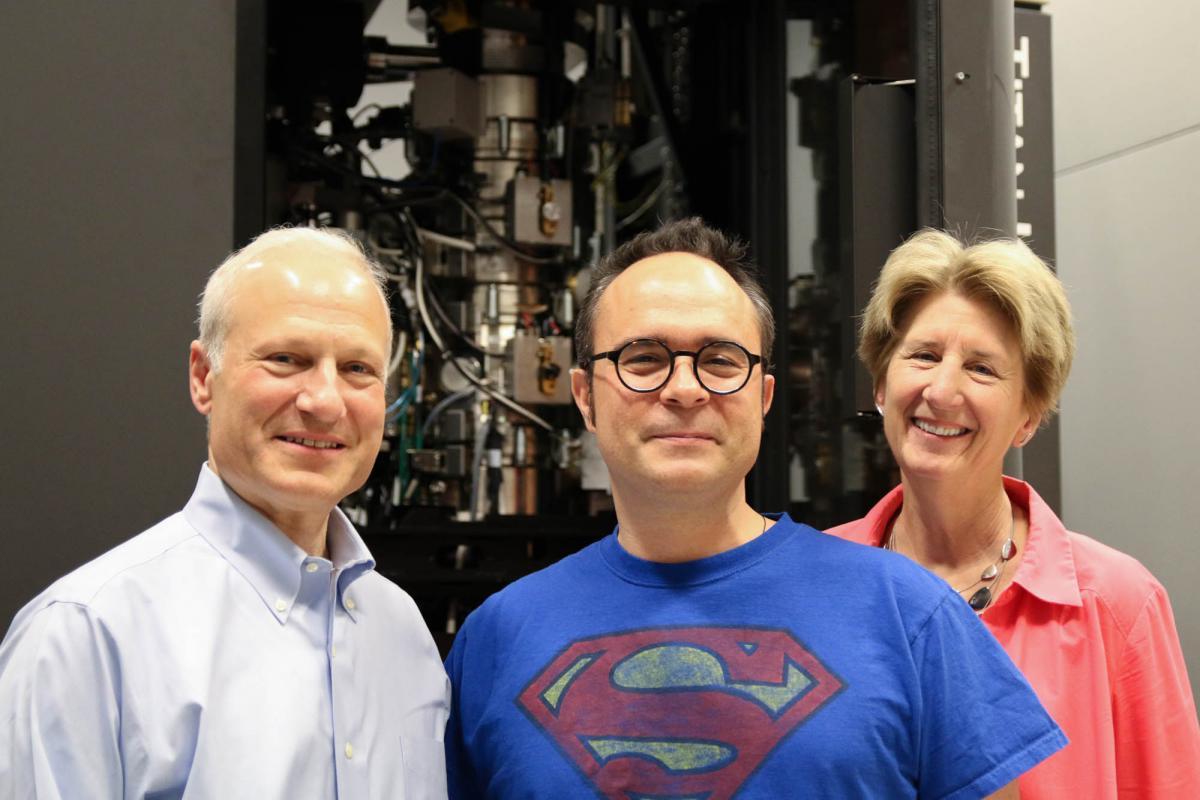 David Sherman, Georgios Skiniotis and Janet Smith