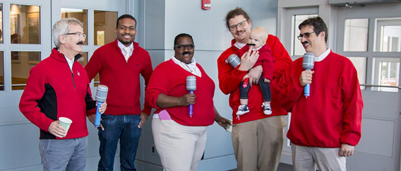 Cone lab members in costume