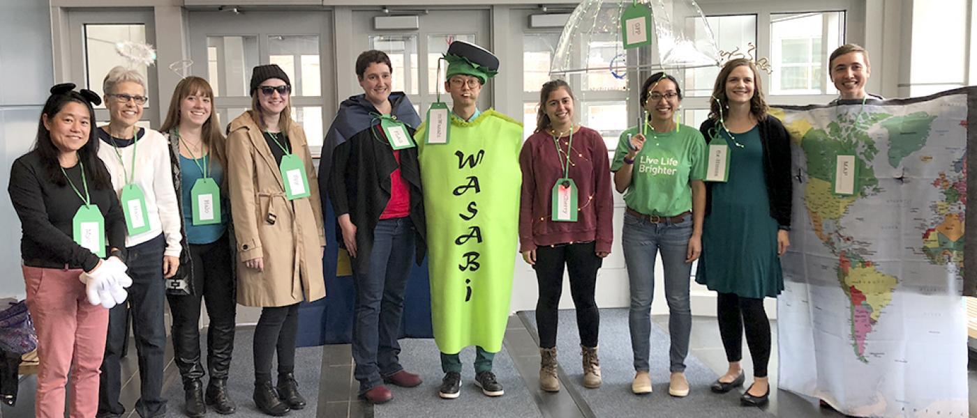 Ohi Lab Halloween, 2019